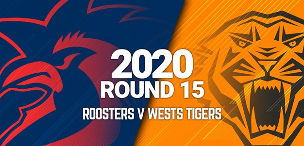 Full Match | Wests Tigers v Roosters