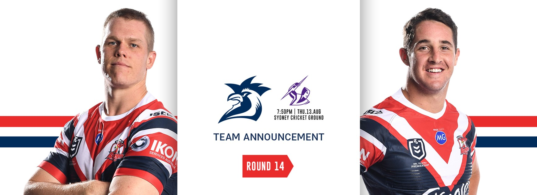 Team Announcement | Round 14