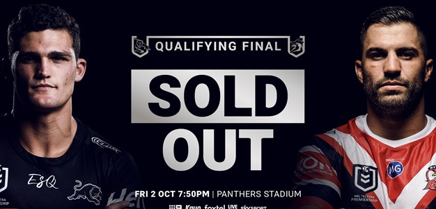 Qualifying Finals Match Sold Out
