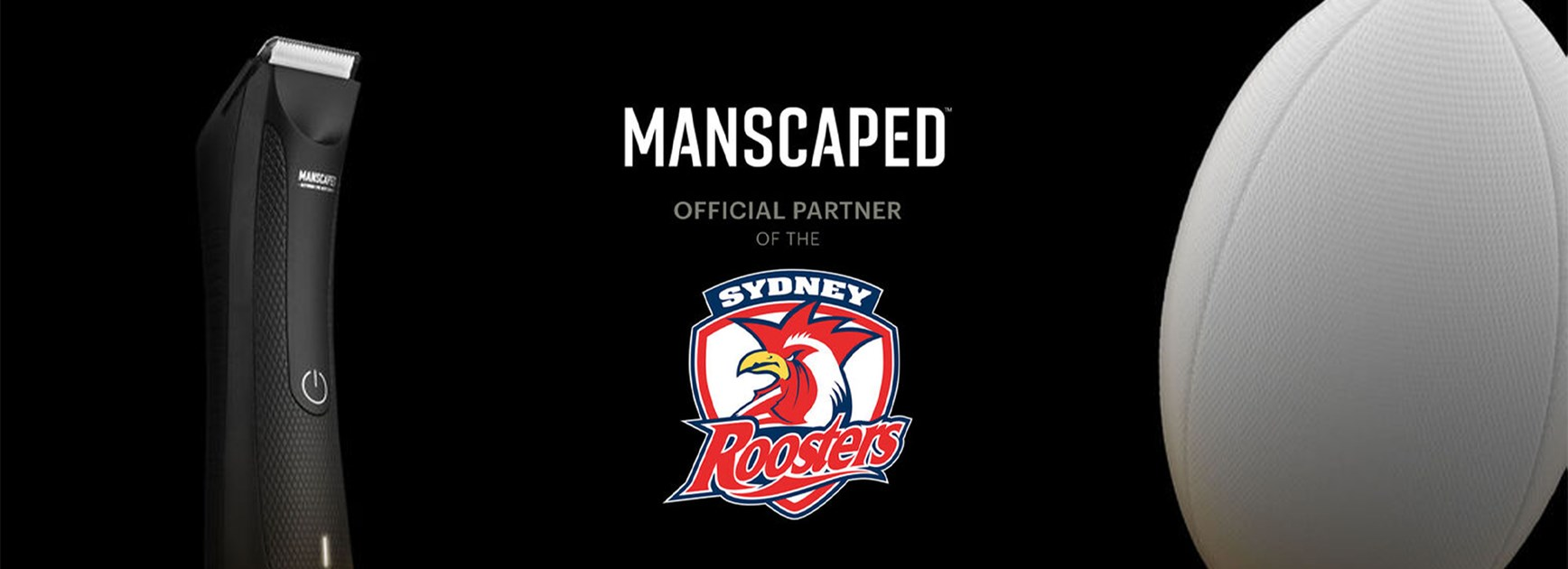 MANSCAPED partner with the Sydney Roosters