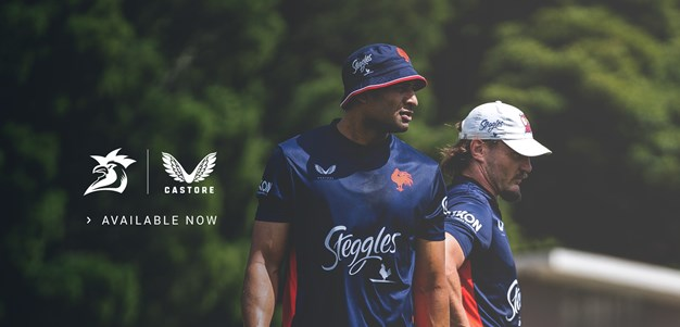 Sydney Roosters 2021 Castore Training Gear on sale