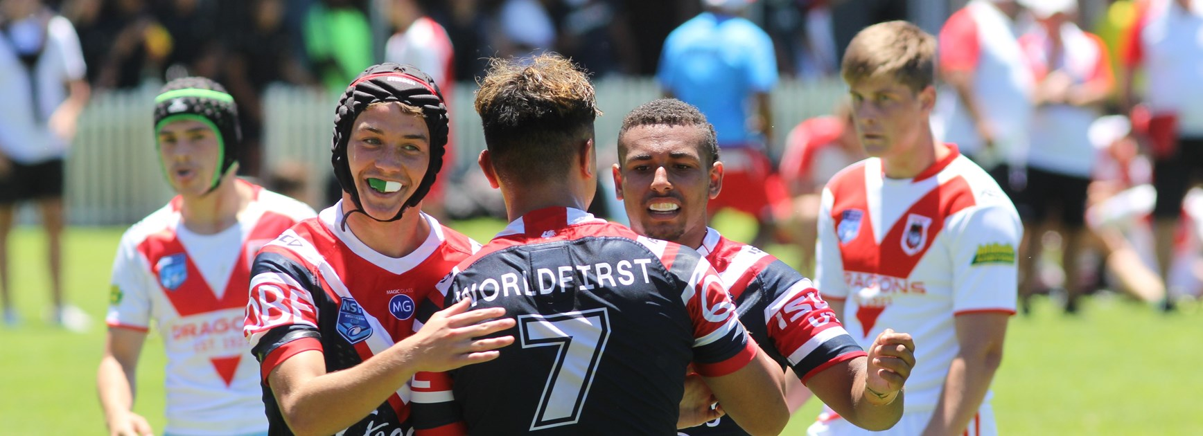 Club's juniors excited to wear the Sydney Roosters colours