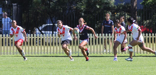 Battle for positions heats up among Sydney Roosters junior squads after strong trials
