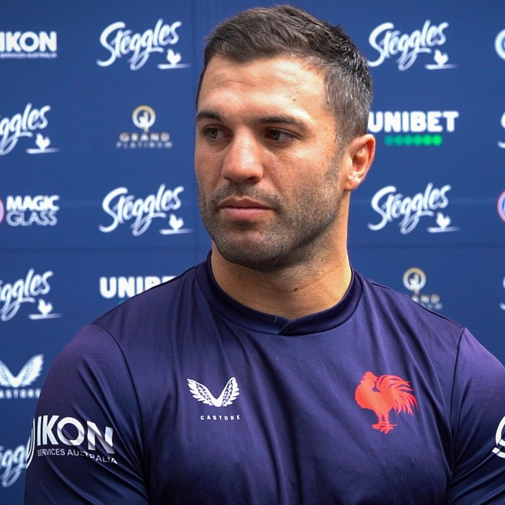Tedesco Lauds Halves as Roosters Prepare for Round 1 'Dogfight'